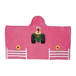 John Deere Baby Girl Hooded Bath Tractor Towel - 60049