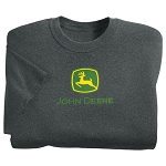 John Deere Dark Gray Trademark T-Shirt - ST101209