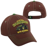 John Deere Youth Farming with Grandpa Cap - ST120574