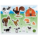 John Deere Custom Sticker Sheets - 5-pack - LP38081