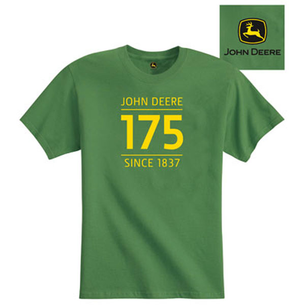John Deere 175th Anniversary Custom Green T-shirt - ST151097
