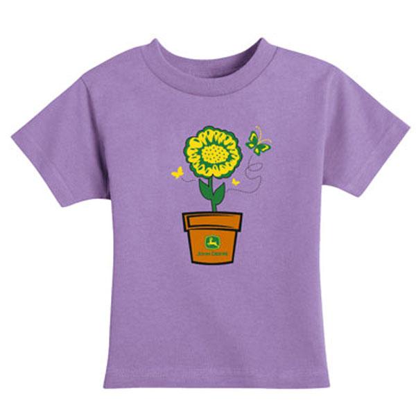 John deere toddler sunflower t shirt 54743 for John deere shirts for kids
