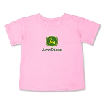 John Deere Girls Toddler Pink T-Shirt - JD06115