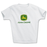 John Deere White Toddler T-Shirt - JD06190