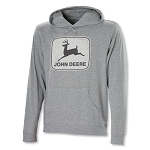 John Deere Gray Long Sleeve T-Shirt Hoodie - JD06195