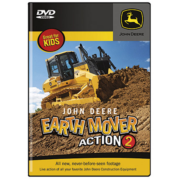 John Deere Earth Mover Action 2 DVD - LP42111