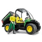 John Deere Bruder 16th scale Gator XUV 855D with Driver - LP53291