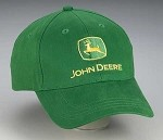 John Deere Brushed Twill Youth Cap