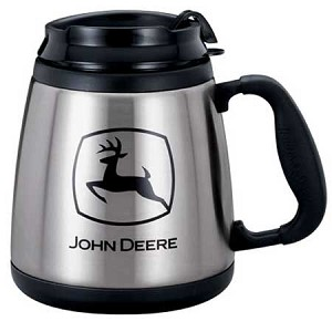 John Deere Stainless Steel Wide Body Mug