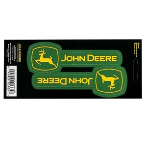 John Deere Horizontal Logo Decal Sheet - JD04150