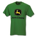 John Deere Custom Dyed Green Trademark T-shirt - JD04243