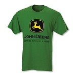 John Deere Custom Dyed Green Trademark T-shirt - JD05323