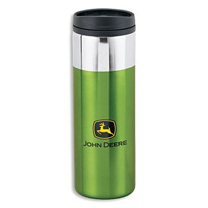 John Deere Chrome Top Tumbler - LP42199