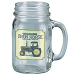 John Deere Iron Horse Drinking Jar - LP10337
