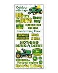 John Deere Scrapbook Stickers
