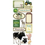 John Deere Farm Scrapbook Stickers - CI25601