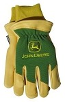 John Deere Deer Skin Thinsulate Lined Driver Glove