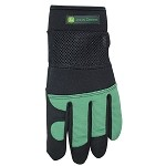 John Deere Ladies Padded Palm Garden / Work Gloves - LP35646