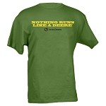 John Deere Nothing Runs Like a Deere Green T-shirt - 13001030GR