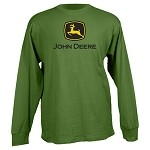 John Deere 2000 Trademark Green Long Sleeve T-shirt - 13010000GR