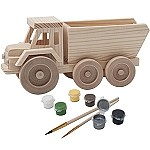 John Deere 3D Wood Toy Dump Truck Paint Kit - LP26547