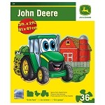 John Deere Johnny Tractor 36-Piece Shaped Floor Puzzle - On The Farm - 11208