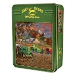John Deere 1000-Piece Puzzle in Collectible Tin - Bumper Crop - 71234