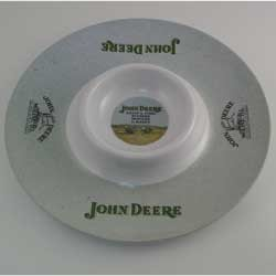 John Deere Chip & Dip Serving Tray