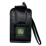 John Deere Medium Black Silk Cell Phone Holder - MH0070