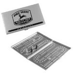John Deere Travel Cribbage Game