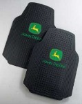 John Deere Trim-To-Fit Truck Floor Mat Set - JD02125