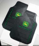 John Deere Factory Trim-To-Fit Front Floor Mat Set - JD02580