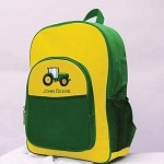 John Deere Green and Yellow Backpack - SW61142
