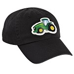John Deere Toddler Black Tractor Cap - LP37753