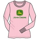 John Deere Girls Thermal Tee - FGT805P