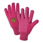 John Deere Ladies' Light-Duty Cotton Grip Glove - LP42387