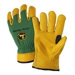 John Deere Mens Top Grain Deerskin Driver Glove - LP42398 - LP42396