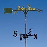 John Deere Color Signature Garden Stake Weathervane - LP36010