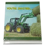 John Deere Party Invitations (8-pack) with envelopes