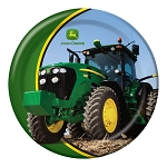 John Deere Tractor Dinner Plate Set of 8 - 78164