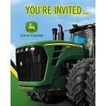 John Deere Tractor Invitations Set of 8 - 78167