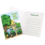 John Deere Johnny Tractor Thank-You Notes Set of 8 - 80273