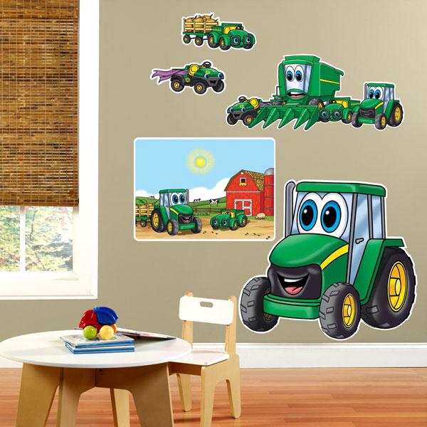John Deere Johnny Tractor Giant Wall Decals 80747