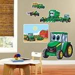 John Deere Johnny Tractor Giant Wall Decals - 80747