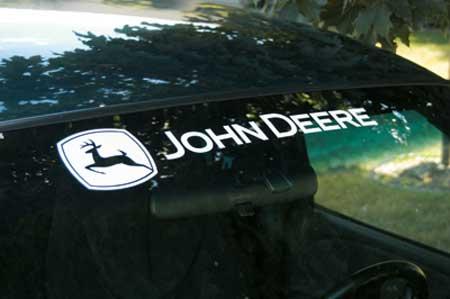 John Deere Gifts >> John Deere Xpressionz Windshield Decal