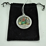 John Deere Limited Edition 2001 Pewter Christmas Ornament - 6th in a series