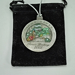 John Deere Limited Edition 2005 Pewter Christmas Ornament - 10th in the series - PMDCO2005