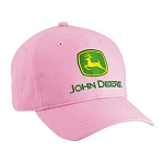 John Deere Youth Pink Twill Cap