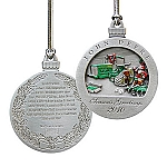 John Deere Limited Edition 2010 Pewter Christmas Ornament - 15th in Series - PMDCO2010