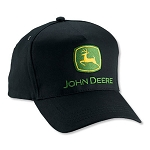 John Deere Value Black Twill Cap - LP14415